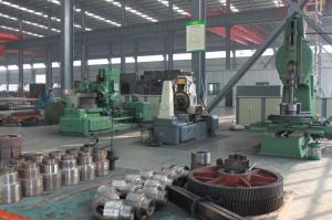 Small parts processing area