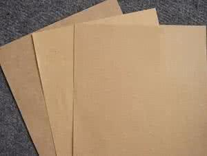 Process for making kraft liner board